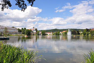 Burgsee in Bad Salzungen
