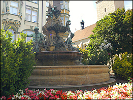 Angerbrunnen in Erfurt