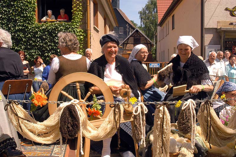 Traditionspflege in der Ferienregion Haseltal