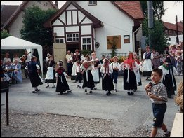 Traditionelle Feste in der Rhön
