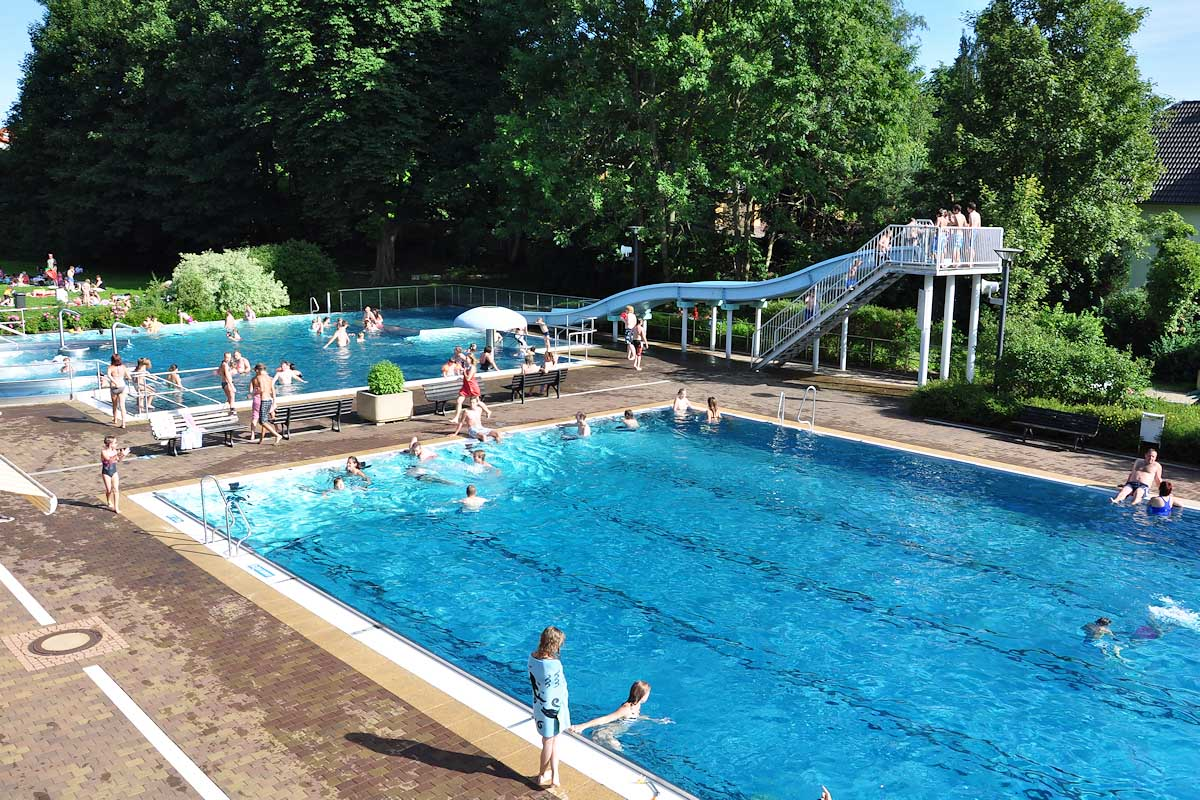 Schwimmbad in Hermsdorf