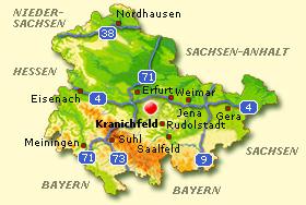Wetter Kranichfeld