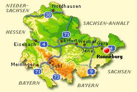 Wetter Ronneburg Thüringen