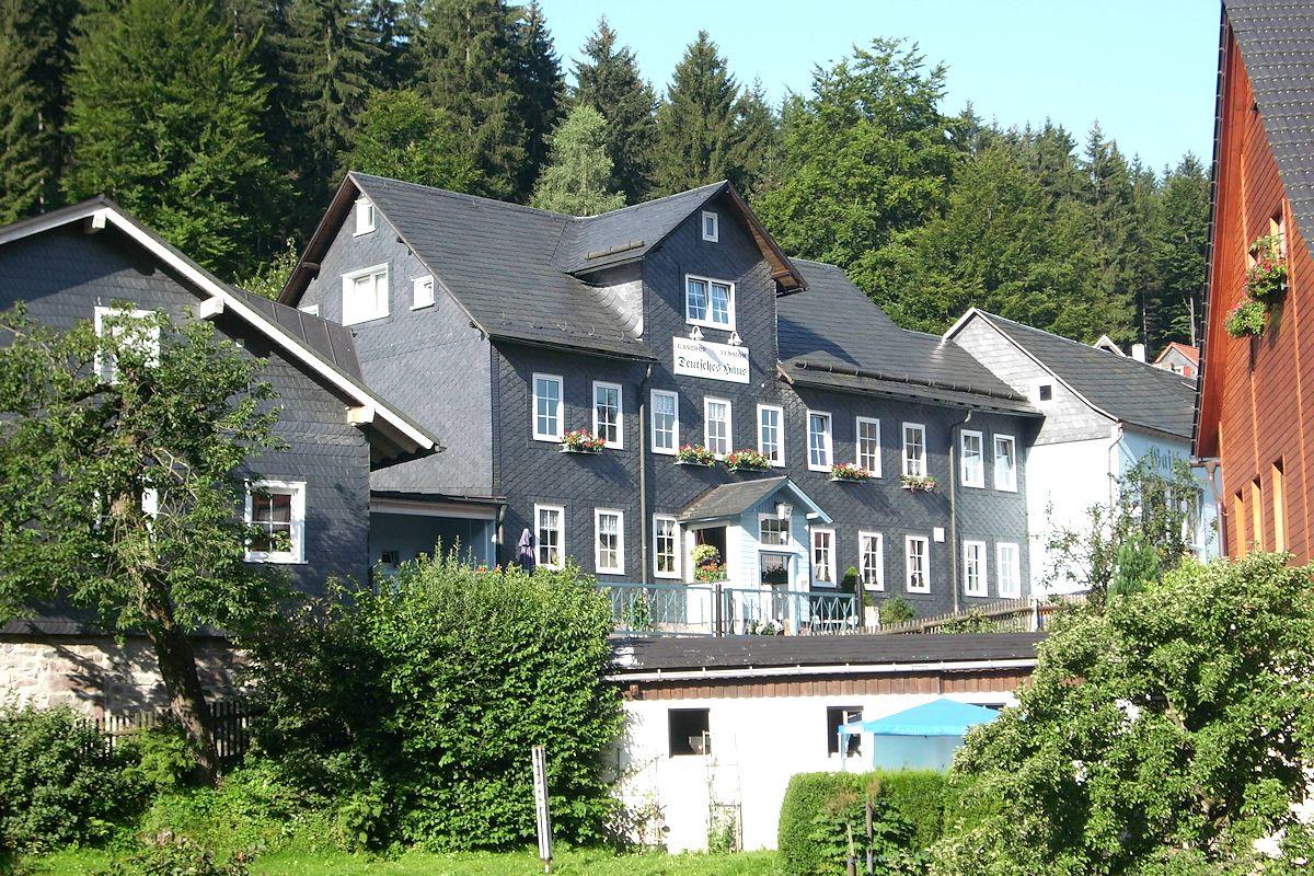 Gasthof suhl for Traditionelles deutsches haus