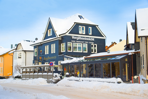 Hotel Haus Vergissmeinnicht im Winter