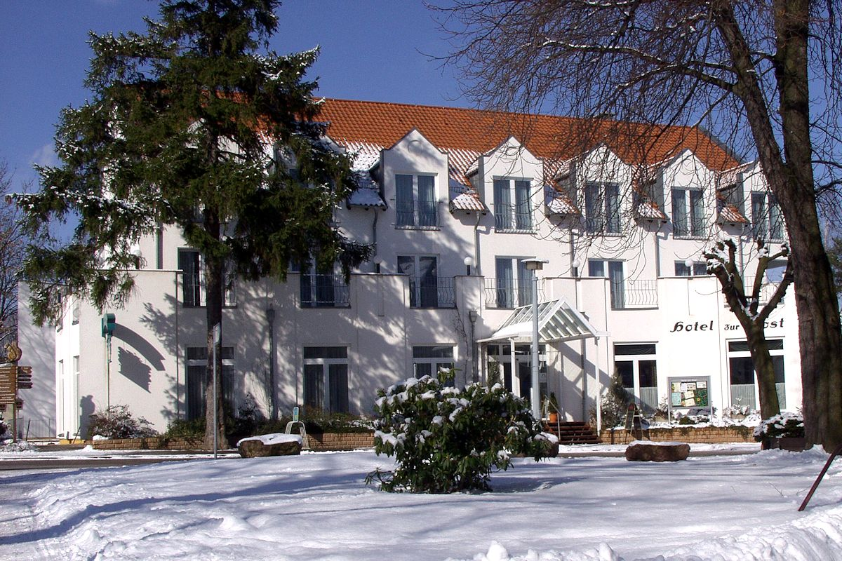 Hotel Zur Post, Winteransicht